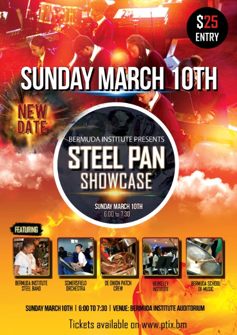 Bermuda Institute Presents Steel Pan Showcase