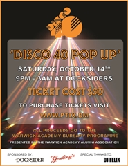 Disco 40 Pop Up