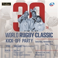 2017 World Rugby Classic Kick Off Party