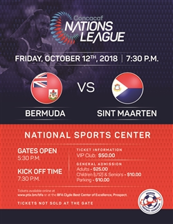 Bermuda vs. Sint Maarten – Concacaf Nations League
