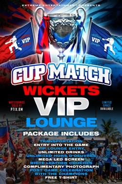 Cup Match Wickets VIP Lounge