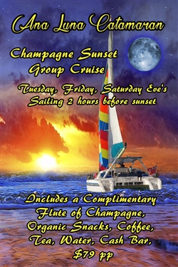 Ana Luna Champagne Sunset Cruise 2020