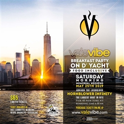 ValeVibe Breakfast Party on D'Yacht 2019