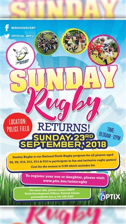 Mini Rugby Registration 2018/2019