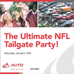 Ultimate NFL Tailgate Party 2018