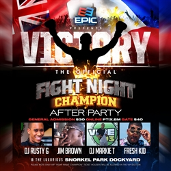 Victory The Official Fight Night Champion After Party