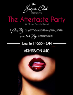 The Aftertaste Party