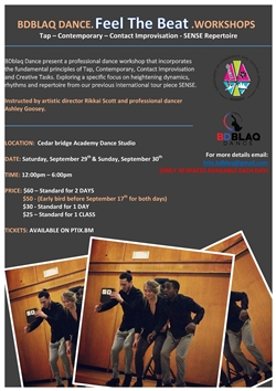 BDblaq Dance Feel The Beat Workshop
