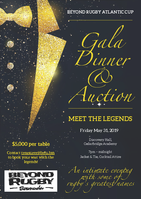 Beyond Rugby Gala Dinner & Auction