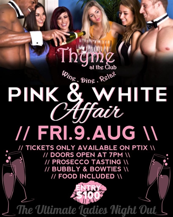Pink & White Affair