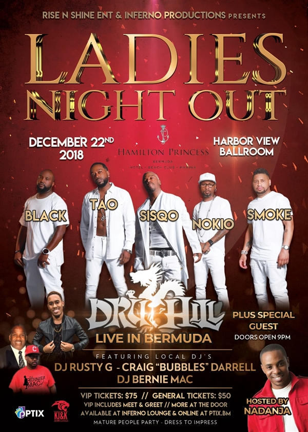 Ladies Night Out featuring Dru Hill