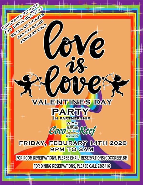 Love is Love Valentines Day Party