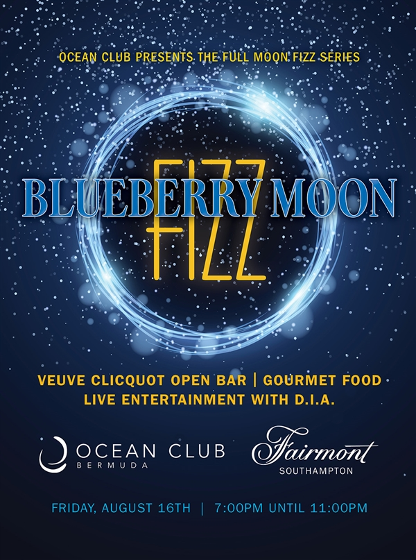 Blueberry Moon Fizz - Full Moon Party