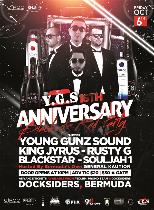 Y.G.S 16th Anniversary Black & Red Party