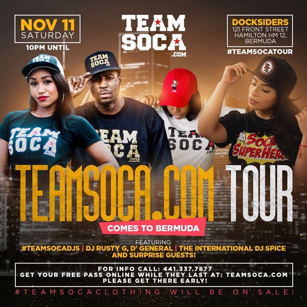 TeamSoca.com Tour