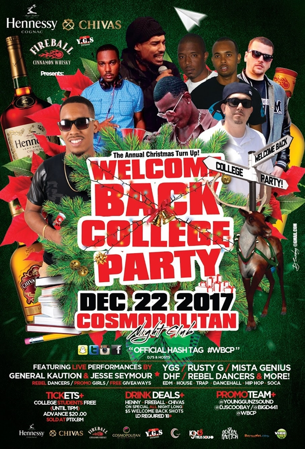 Welcome Back College Party