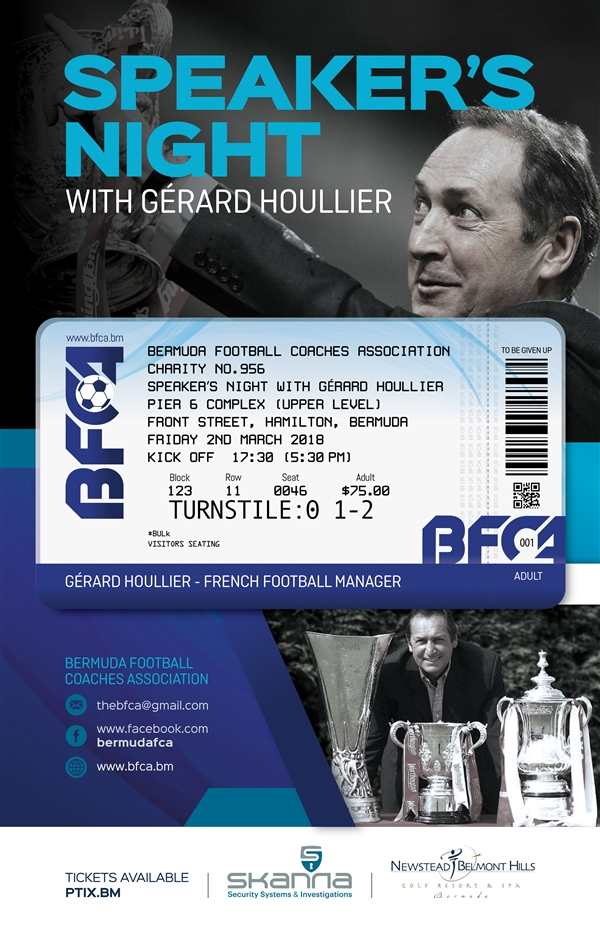 Speaker's Night with Gérard Houllier