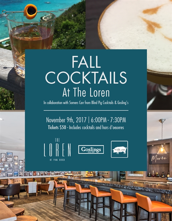 Fall Cocktails at The Loren