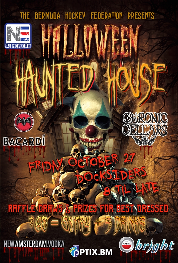 BHF Hallowe'en Haunted House