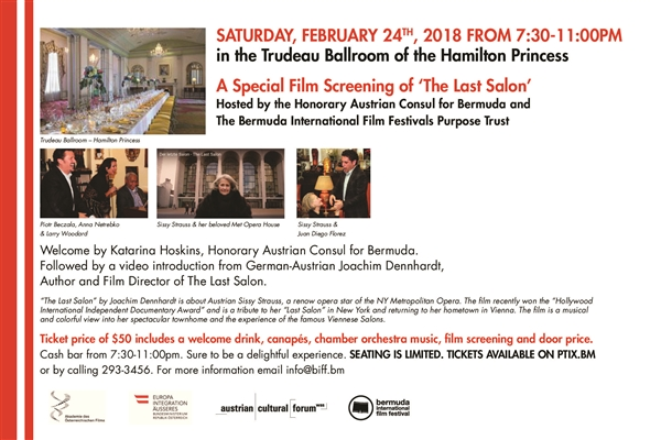 A Special Film Screening of 'The Last Salon'