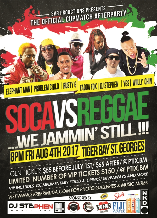 Soca vs Reggae 2017