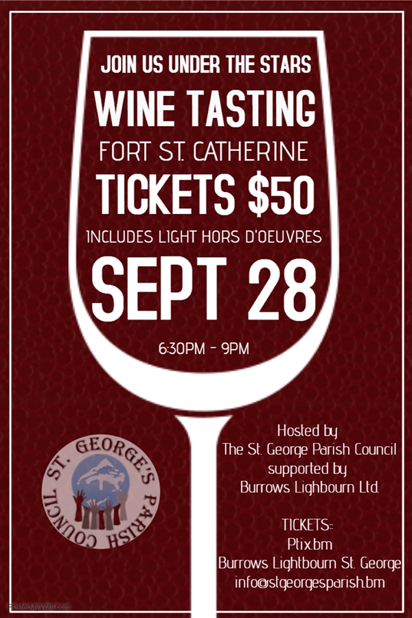 The St. George's Parish Council - Wine Tasting 2018