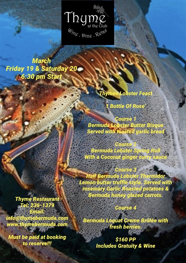 Thyme's Lobster Feast
