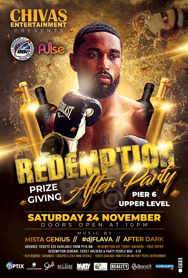 Redemption - Prize Giving & After Party