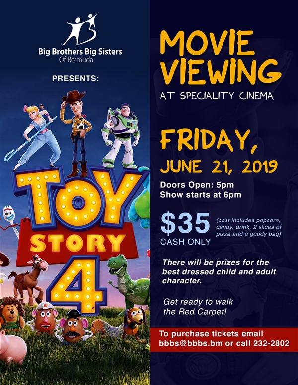 Big Brothers Big Sisters Movie Fundraiser