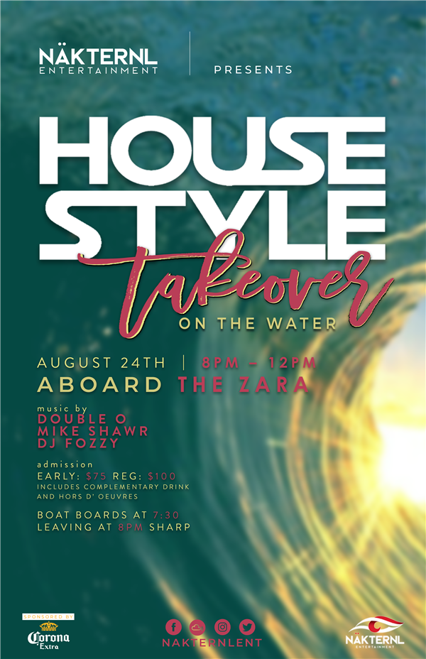 Housestyle Takeover In The Water