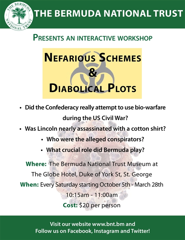 Nefarious Schemes and Diabolical Plots - An Interactive Workshop