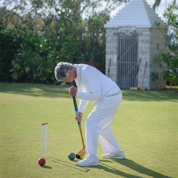 Croquet and Tea at a Private Club