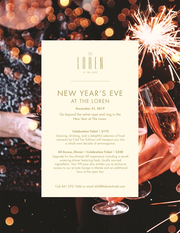 New Year's Eve at The Loren