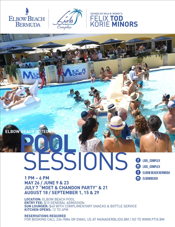 Elbow Beach Hotel presents Pool Sessions
