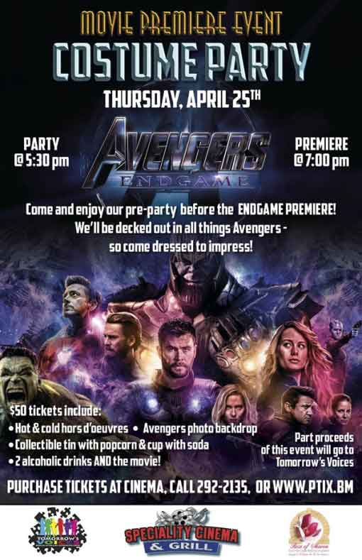 Avengers: End Game - Premiere