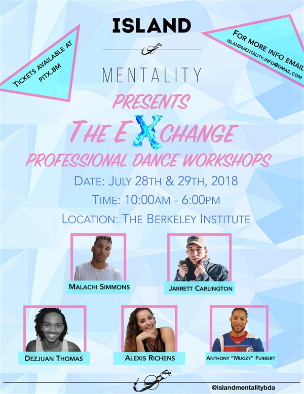 The Exchange Professional Dance Workshops