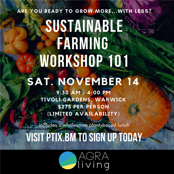 Sustainable Farming Workshop 101