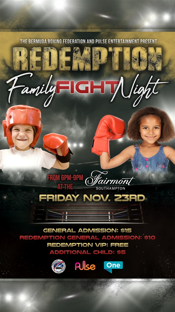 Redemption Family Fight Night