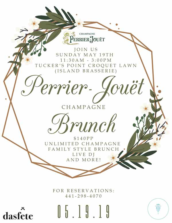 Perrier-Jouët Champagne Brunch