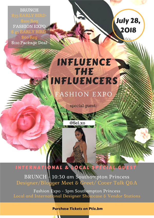 Influence the Influencers Fashion Expo & Brunch 2018