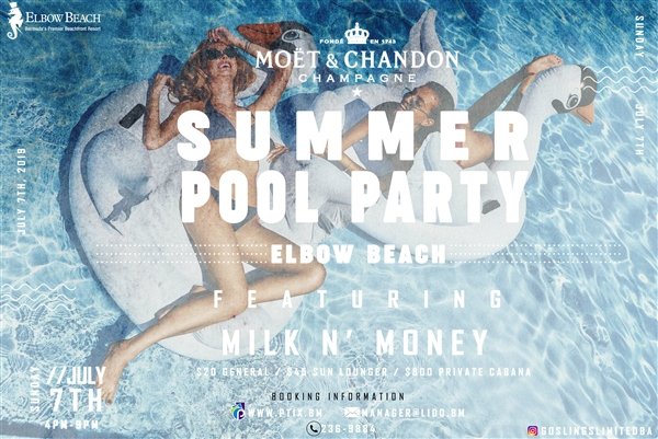 Moet & Chandon presents Summer Pool Party