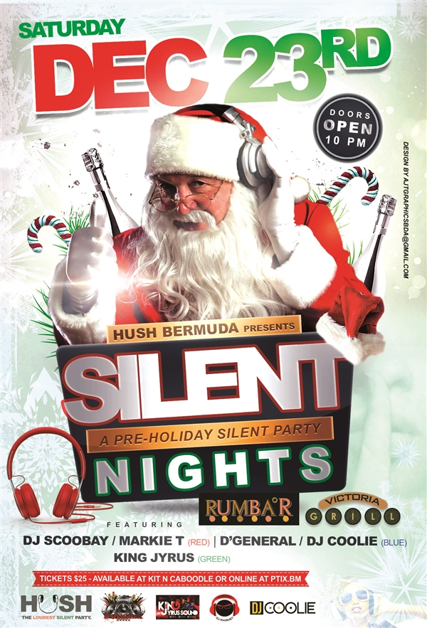 Silent Night - A Pre-Holiday Silent Party