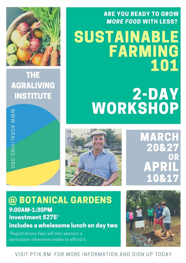 Sustainable Farming 101 2-Day Workshop