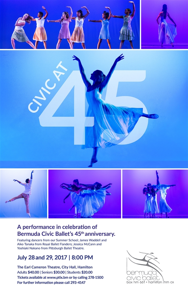 Bermuda Civic Ballet's 45th Anniversary