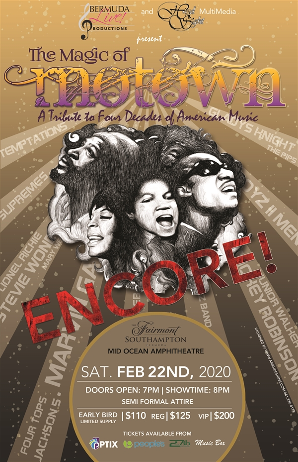 The Magic of Motown Encore!