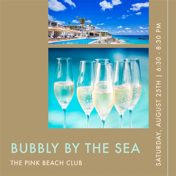 Bubbly by the Sea