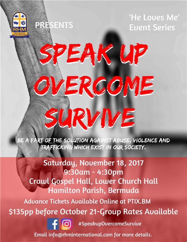 Speak Up Overcome Survive