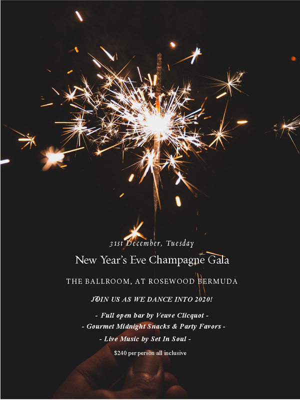 New Year's Eve Champagne Gala