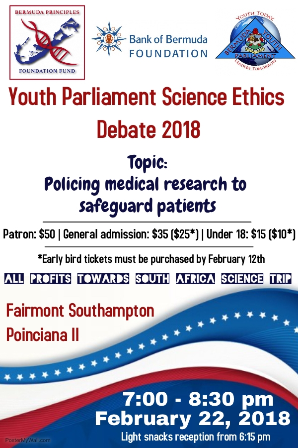 2nd Annual Youth Parliament Science Ethics Debate