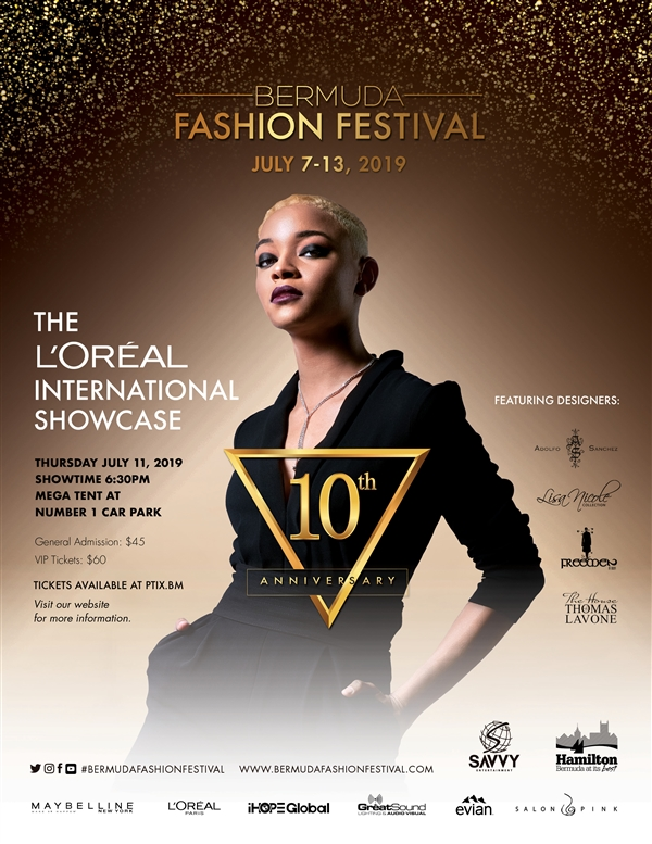 The L'Oreal International Designer Showcase